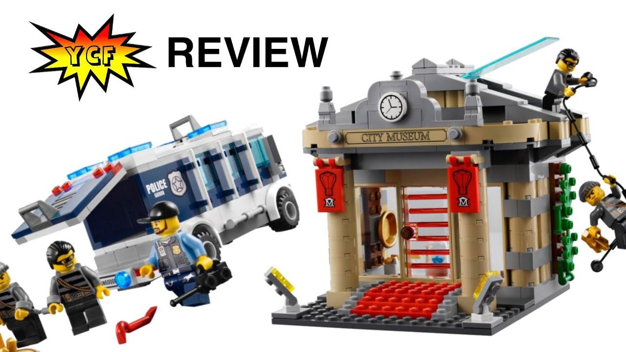 Lego City 60008 Museum Break In / Museums Raub - Lego Speed Build ...