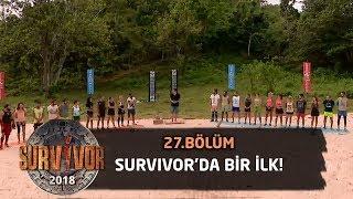 Survivor tarihinde bir ilk! Acun Ilıcalı açıkladı... | 27. Bölüm | Survivor 2018
