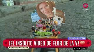 ¡El insólito video de Flor de la V!
