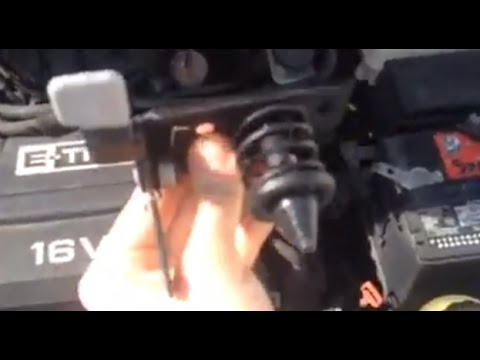How to repair hood latch  YouTube