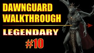 Skyrim Dawnguard Walkthrough #10, How to Get the Dwarven Crossbow Schematic (Halted Stream Camp)