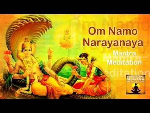 OM NAMO NARAYANAYA Chanting Mantra Meditation | Narayana is the Supreme God |