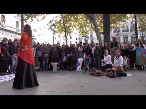 Acto del Día de los Gitanos Andaluces 2013 en Plaza Nueva (Sevilla).