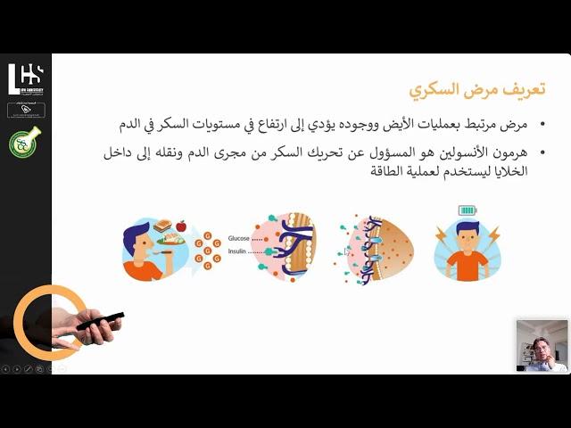 السكري من النوع الثاني بين الجين والسلوك // ندوة الكترونية 28 ابريل 2021