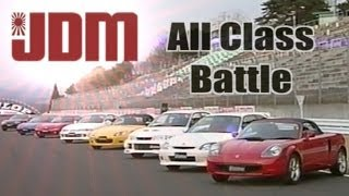 [ENG CC ] All Class Sugo 2000 - Integra R, Civic R, S2000, NSX, EVO VI, Supra, RX7, MR-S