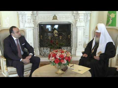 Патриарх Кирилл встретился с послом Армении в России Варданом Тоганяном