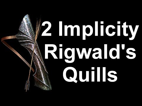 Dva Implicity Na Rigwald's Quills (Path Of Exile: Legion)