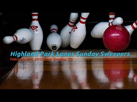 Highland Park Lanes Sunday Sweeper - March 15, 2015