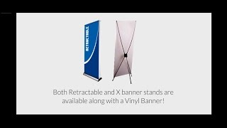 Cheap Banner Stands for Vinyl Banners at 55printing.com