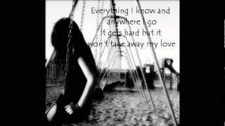3 Doors Down - Here Without You (Lyrics!!)