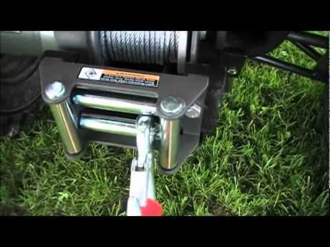 Wiring up a BadLand Winch on a ATV 4 Wheeler  YouTube