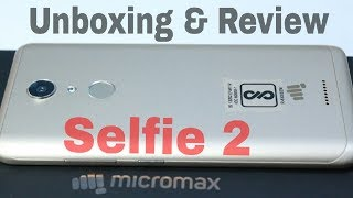 Micromax Selfie 2 Unboxing amp Review - Camera Like DSLR