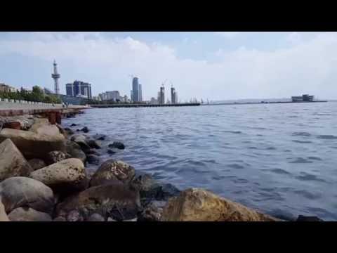 Baku, Azerbaijan Caspian Sea