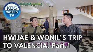 Lee Wonil X Lee Hwijae's trip to Valencia!! Part.1 [Battle Trip/2018.12.16]