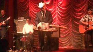 "Junior Brown - ""Joe The Singing Janitor"" Live In Charlotte, NC (Visulite Theatre 10/29/14)"