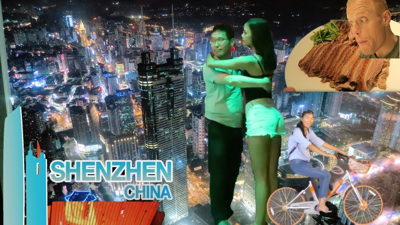 EXPLORING SHENZHEN.. AT NIGHT!?? Amazing Future City! Nightlife, Sky Bar View & Street Food CHIN