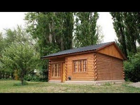 Como hacer una caba a de madera youtube - Como hacer una casa de madera para ninos ...