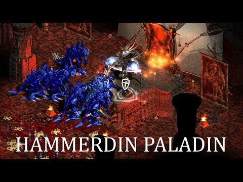 Diablo 2 - Мой МФ Паладин Хаммердинер (Hammerdin Paladin) - Билд / Гайд (скиллы, шмот и т.д.)