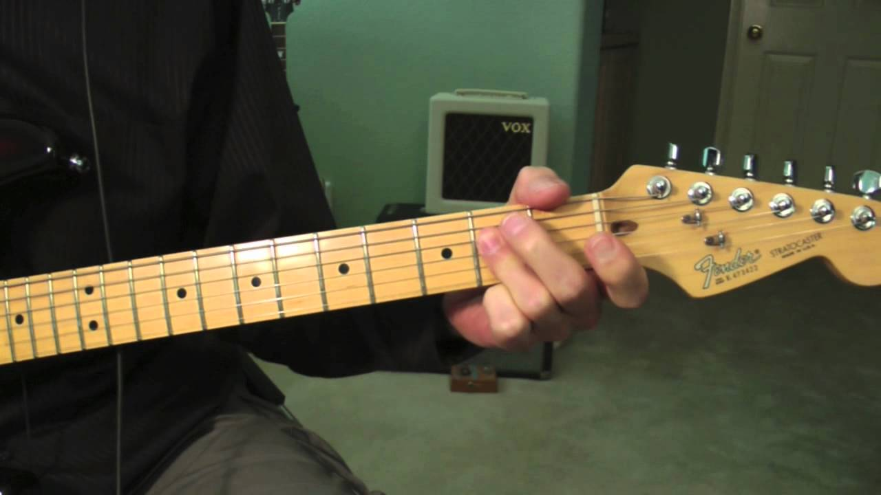 Ccr Green River Guitar Lesson Youtube