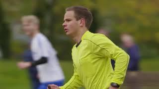 Dominik Mynarek - Jungschiedsrichter unter Seniorenmannschaften