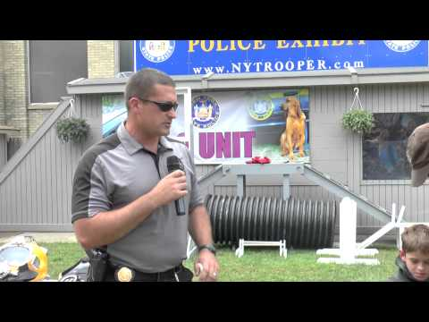 New York State Police Exhibit SCUBA Demonstration 2015