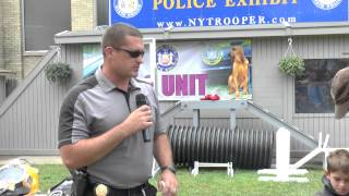 New York State Police Exhibit SCUBA Demonstration 2015