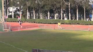 港九區D1中學學界田徑賽 2014-2015 GA 4X400m (Final)