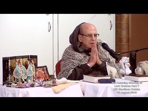 The Amazing Offering of Lord Brahma Part 1 of 4 - HG Bhurijana Prabhu