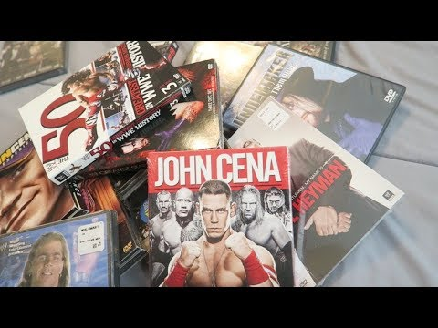 WWE DVD Collection 2018