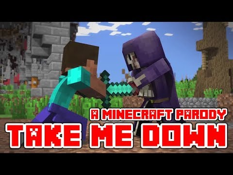"Minecraft Song And Videos ""Take Me Down"" A Minecraft Parody Of Drag Me Down By One Dirrection"