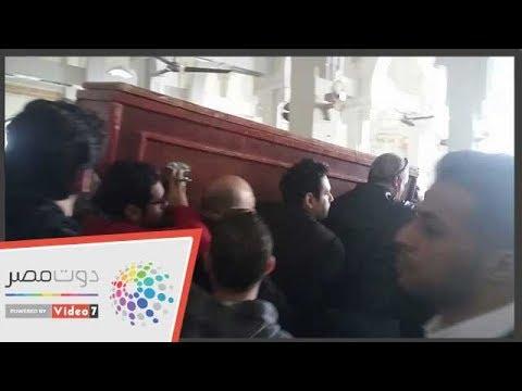 تشيع جثمان الفنان سعيد عبد الغنى من مسجد الصديق  - 13:54-2019 / 1 / 18