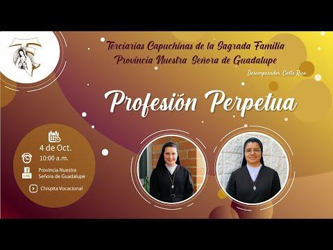 Profesión Perpetua Hermanas