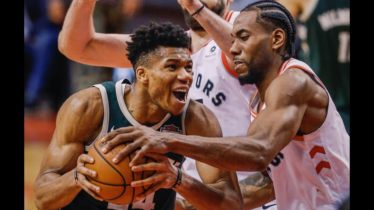 Kawhi Leonard Clamps Down On Giannis Antetokounmpo in Game 3 | 4 PTS, 2-12