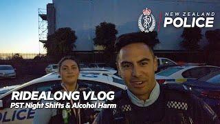PST Night Shifts & Alcohol Harm   New Zealand Police Vlog S2 E04