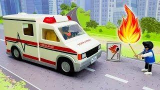 Мультики с игрушками Скорая помощь и Пожарная машина - Соседи! Видео для детей