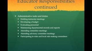 Chapter 2 EMS Educator Roles