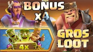 ON PROFITE DU BONUS x4 POUR FARM LES HEROS MAX !!!!! | Road To Max HDV 11 | Clash of Clans FR