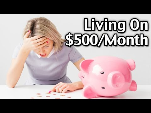 How Mom Lived On $500 A Month w/2 Teens!