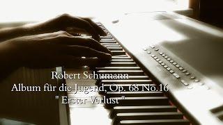 Robert Schumann Op. 68 No.16