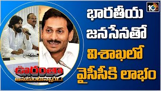 BJP - Janasena Alliance Benefit To YSRCP in Visakha | Oorantha Anukuntunnaru  News