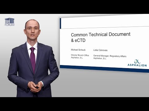 E-Learning: Common Technical Document & ECTD