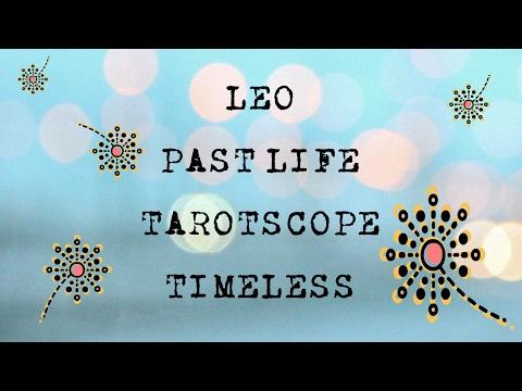 Leo Past Life Tarotscope - Timeless