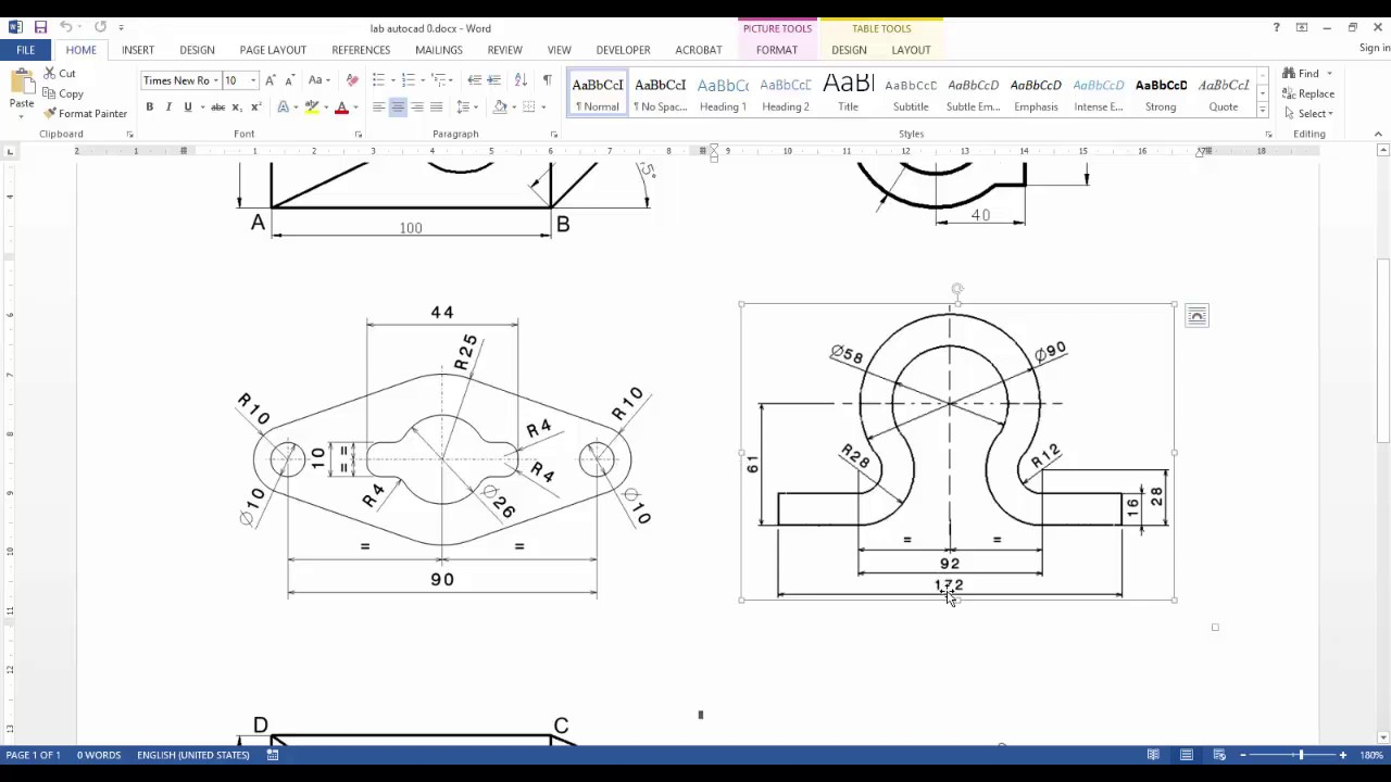 Drawing 2d profiles in autocad youtube for 2d design online