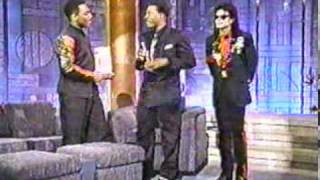 Michael Jackson's surprise appearance on Arsenio Hall