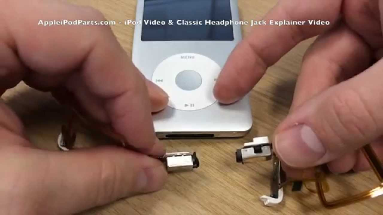 The Difference Between Ipod Video Ipod Classic Headphone Jack Explainer Video Youtube