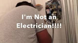 How to Fix triton 2nd gen electric shower when a pressure relief valve fails