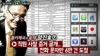 뉴스타파 - 양진호, 직원 휴대폰 무차별 해킹... 통화, 문자만 6만 건 털어