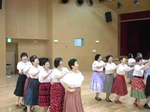ジェンカ  jenka 橋幸夫 フォークダンス 踊り方 振り付け 動画