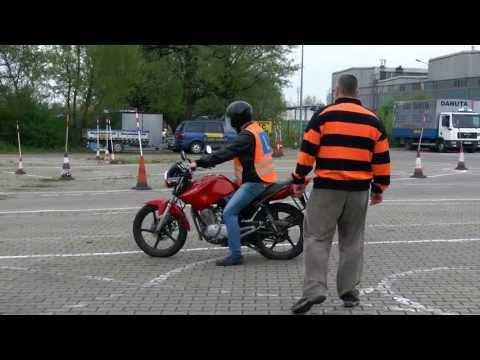 Pierwsza jazda motocyklem śmieszne Darka Kraśnickiego