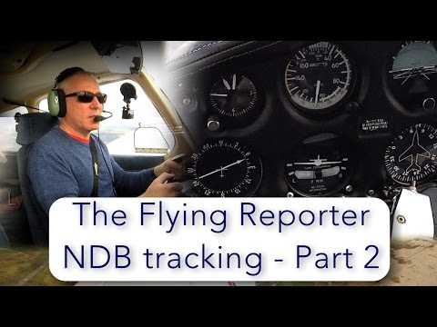 NDB tracking - part 2 - tracking from a non directional beacon
